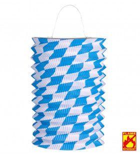 Feestelijke Lampion Wit / Blauw, Bv
