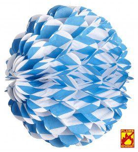 Feestelijke Honingraad Bol Wit / Blauw, Bv