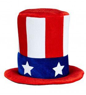 Stars-Stripes Hoge Hoed Uncle Sam