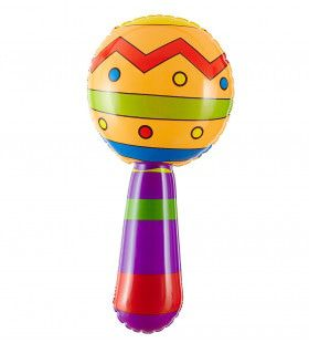 Braziiaanse Opblaasbare Sambaballen Met Geluid, 20cm