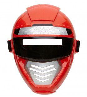 Power Ranger Robotmasker Kind, Rood
