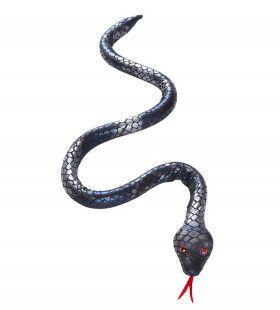 Enge Buigbare Zilveren Slang, 80cm