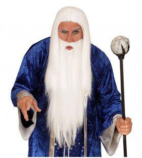 Gandalf Pruik, Tovenaar Met Baard