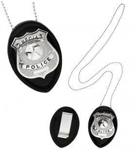 Lapd Politie Badge Met Ketting En Klem