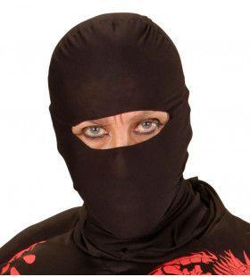 Zwart Ninja Masker, Volwassen