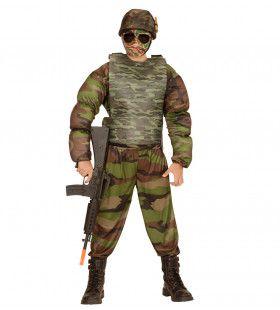 Realistisch Ogend Kogelvrij Vest Camouflage, Kind