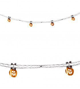Halloween Decoratie Slinger, Pompoen Folie