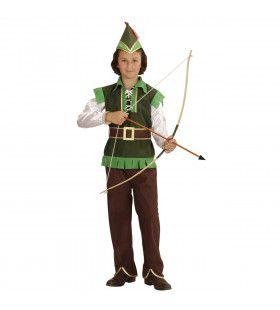 Robin Hood Uit Een Sprookje Jongen Kostuum