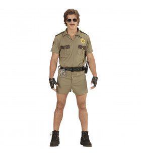 Brandon Agent California Highway Petrol Man Kostuum