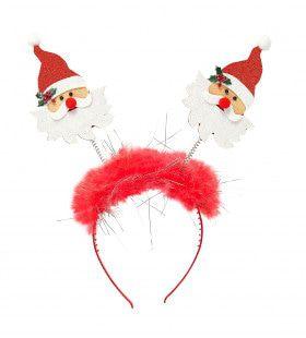 Santa Bopper Kerstman Met Boa En Klatergoud