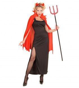 Marquizin Duivelse Dame Vrouw Kostuum