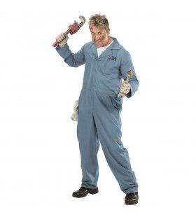 Mr Plumbing Loodgieter Man Kostuum