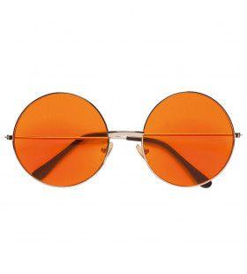 Freaky Bril, 70s Oranje Glas