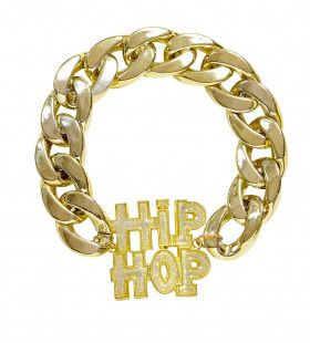 Gangsta Armband Hiphop Goud