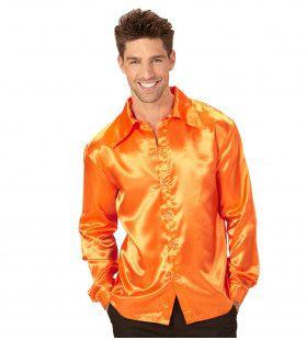 Cool Dancer Discoshirt 70s, Oranje
