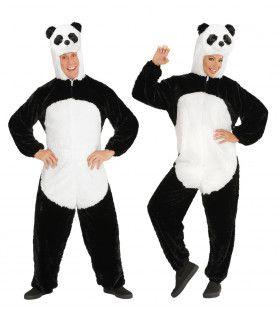 Dieren Onesie Pluche Panda Kostuum
