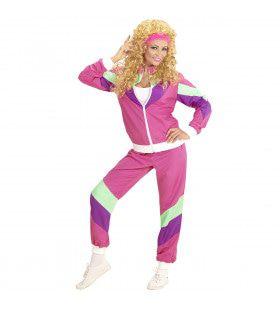 Maaskantje Trainingspak Rose Vrouw Kostuum