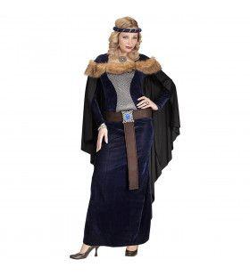 Middeleeuwse Prinses Passahara Vrouw Kostuum