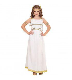 Griekse Godin Angelica Meisje Kostuum