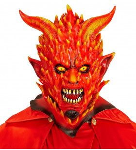 Masker Vlammende Pinefire Duivel