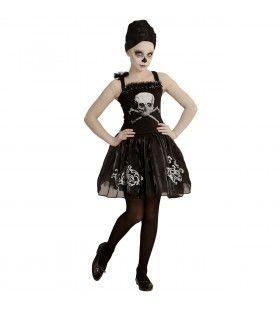 Schedel Ballerina Stervende Zwaan Meisje Kostuum