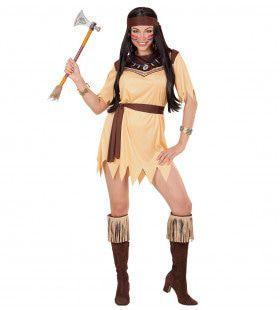 Indiaanse Paradisia Vrouw Kostuum