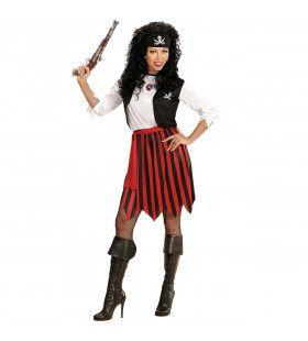 Pirate Pemm Vrouw Kostuum