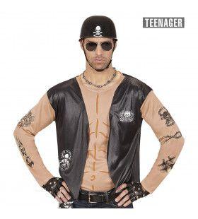 Biker Shirt Motorman Tiener