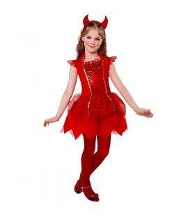 Duivel Deirdre Meisje Kostuum