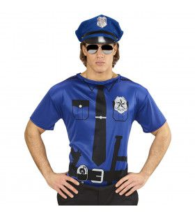 Politie Tom T-Shirt Man