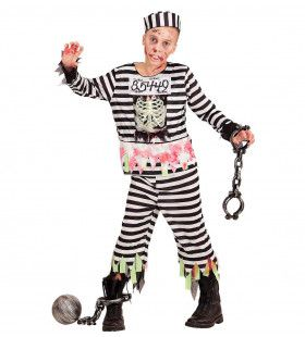Gevangene Zombie Zuzu Jongen Kostuum