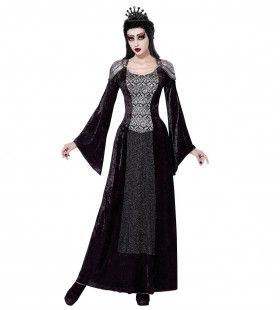 Zwarte Koningin Olla Vrouw Kostuum