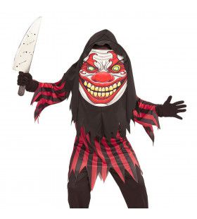 Horror Clown Emoji Jongen Kostuum