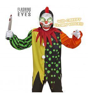 Horror Clown Elektro Jongen Kostuum