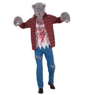 Weerwolf William Man Kostuum