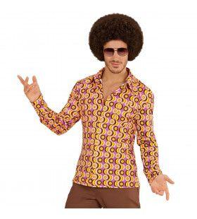Groovy Garry 70s Heren Shirt, Lps Man