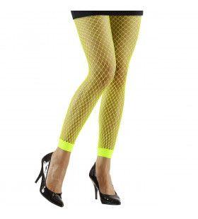 Basis Visnet Legging Groen Vrouw