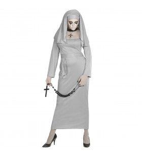 Zombie Non Geest Vrouw Kostuum