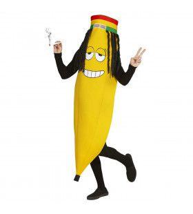 Rastafari Banaan Bob Banaanley Man Kostuum