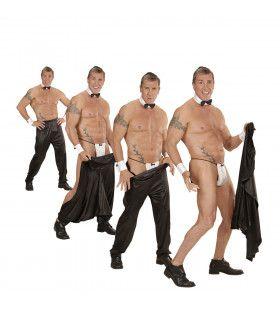 Wegtrek Mannelijke Stripper Broek Chippendale