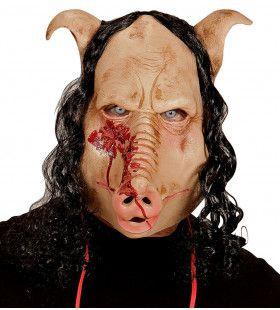 Masker Walgelijk Slagerij Varken