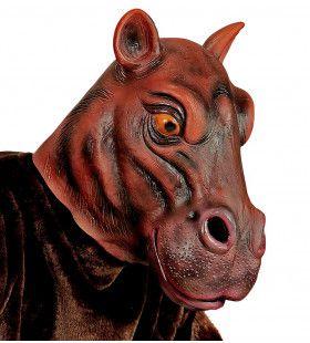 Cartoony Masker Nijlpaard