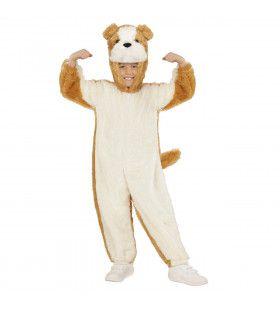 Jumpsuit Met Kap En Masker 98cm, Brave Hond Kostuum