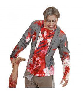 T-Shirt Lange Mouwen Wallstreet Crash Man