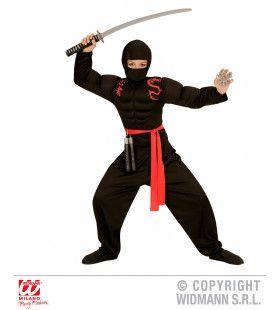 Super Ninja Kind Jongen Kostuum