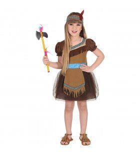 Kucadikadi Indiaan Amerika Meisje Kostuum