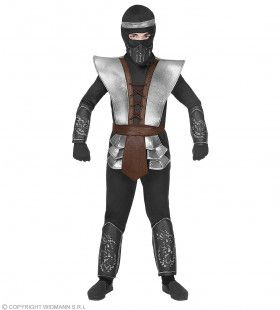 Ninja Meester Zoevend Zwaard Jongen Kostuum