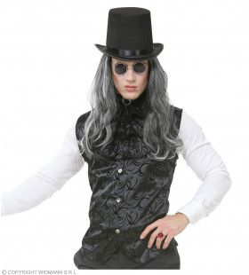 Gotisch Vest Met Jabot Man