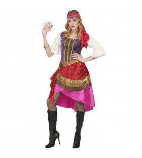 Waarzegster Tarotinia Zigeunerin Vrouw Kostuum