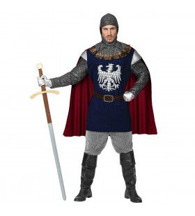 Brede Adelaars Borst Ridder Man Kostuum